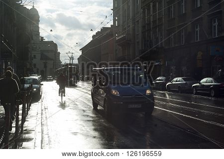 Krakow After The Rain, Poland