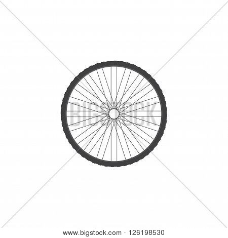 Bicycle wheel. Icon of a bicycle wheel. Part of the bike.