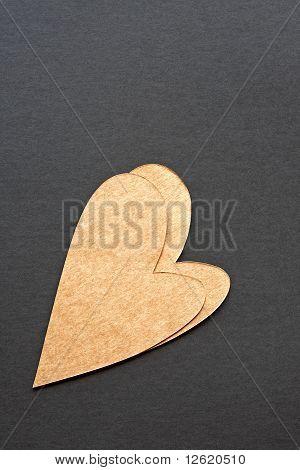 Double Heart Yellow