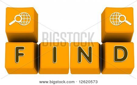 Search Sign On Keyboard