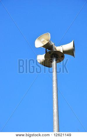 Loudspeaker column
