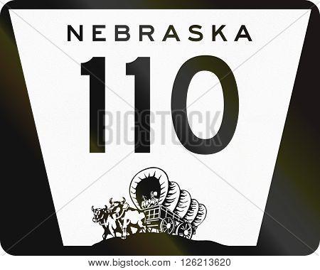 Nebraska Highway Route Shield Used In The Us