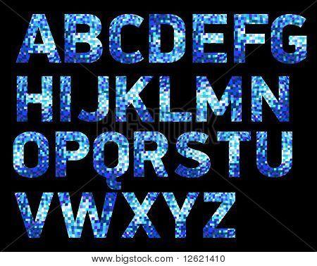 Font Discoblue.