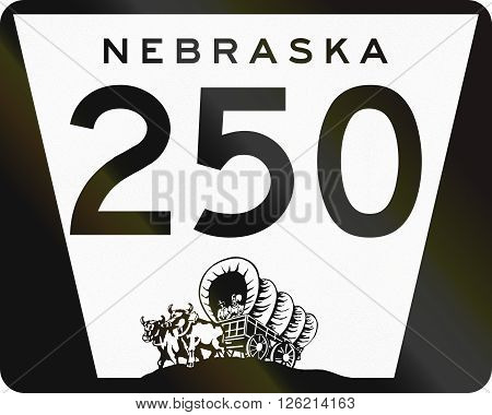 Nebraska Highway Route Shield Used In The Us
