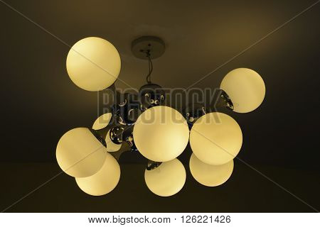 Light on top in Living Room .