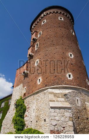 Tower And Walls Of The Wavel Castle