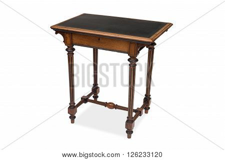 An Antique Wooden Side Table