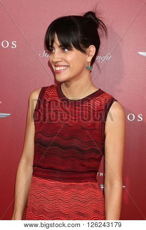 LAS VEGAS - APR 17:  Natalie Morales at the John Varvatos 13th Annual Stuart House Benefit at the John Varvatos Store on April 17, 2016 in West Hollywood, CA