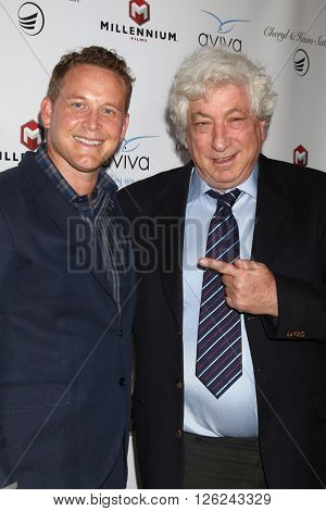 LAS VEGAS - APR 16:  Cole Hauser, Avi Lerner at the A Gala To Honor Avi Lerner And Millennium Films at the Beverly Hills Hotel on April 16, 2016 in Beverly Hills, CA