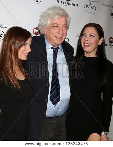 LAS VEGAS - APR 16:  Lotti Groban, Avi Lerner, Christa Campbell at the A Gala To Honor Avi Lerner And Millennium Films at the Beverly Hills Hotel on April 16, 2016 in Beverly Hills, CA