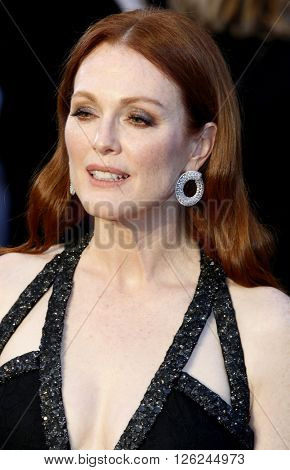 Julianne Moore at the 88th Annual Academy Awards held at the Dolby Theatre in Hollywood, USA on February 28, 2016.
