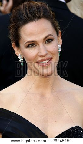 Jennifer Garner at the 88th Annual Academy Awards held at the Dolby Theatre in Hollywood, USA on February 28, 2016.