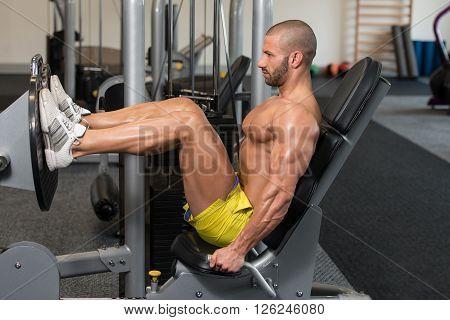 Health Club Leg Press Exercises