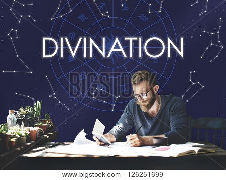 Divination Divine Belief Faith Fortune Holy Mystic Concept