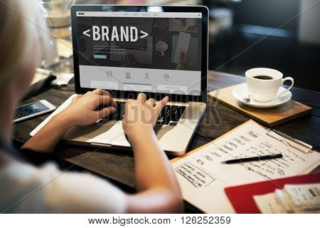 Brand Branding Marketing Advertising Trademark Concept