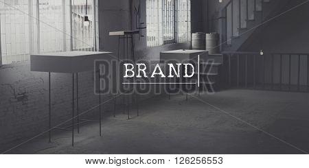 Brand Marketing Business Trademark Value Concept