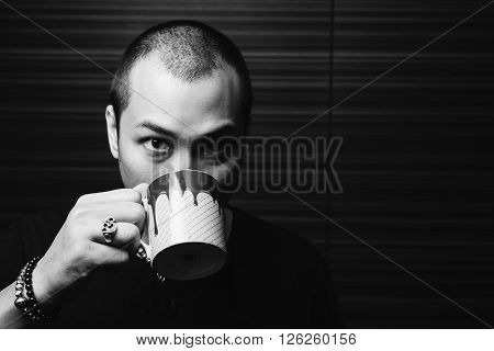 Asian family series : Skinhead Asian man