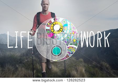 Life Work Balance Stability Wellbeing Concept