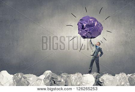 Powerlifter of great ideas