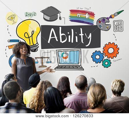Ability Achievement Inspiration Improvement Cocept