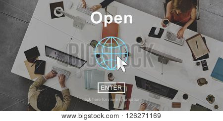 Open Expose Revealed Public Available Opening Concept