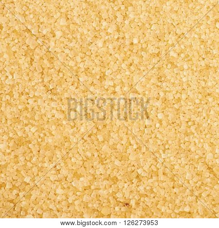 Surface coated with the stevia cane sugar as a backdrop texture composition