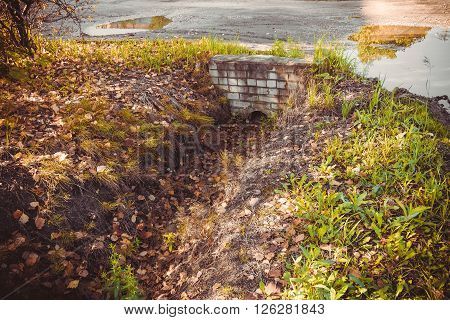 Old Rural Ditch