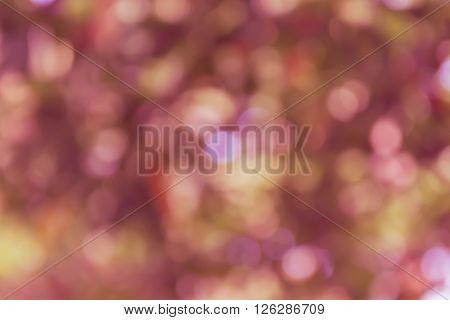Colourful Spark And Blow Natural Bokeh  In Wonderful Fantasy Pink Violet Pastel Spring Blossom Backg