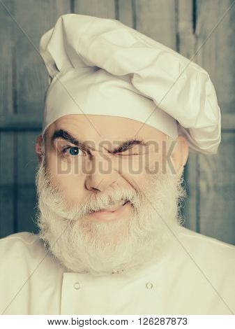 Cook Man In Hat