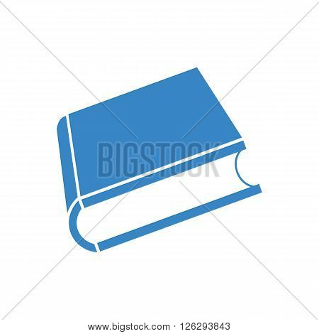 Vector 3D book on white background, illustration