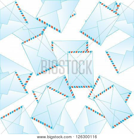 Much letters on white background is insulated.Vector illustration