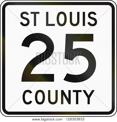 Minnesota County Route Shield - St. Louis County