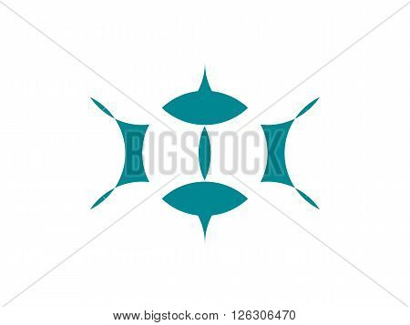 icons business logo seeing eye vector eps10