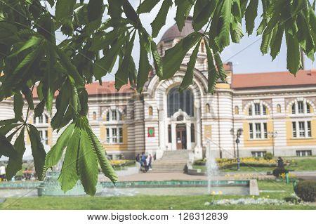 Central Public Mineral Bath House In Sofia, Bulgaria