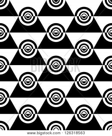 Seamless decorative design. Vector illustration of a background