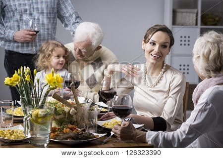 Family Conversations At The Table