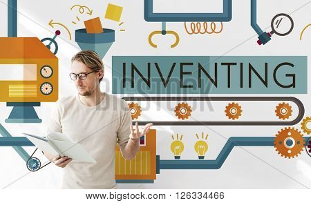 Inventing Innovation Create Creative Process Concept