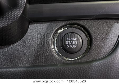 Car engine start and stop button hight technology