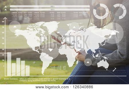 Globalization Community Networking Trading Concept