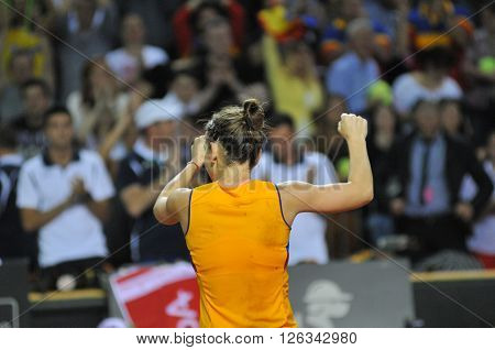 Woman Tennis Player Simona Halep