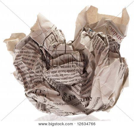 Newspaper Ball