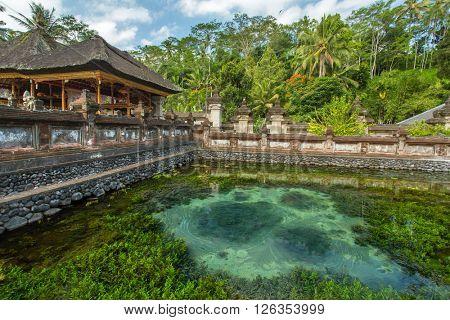Pura Tirta Empul Temple, Bali, Indonesia.