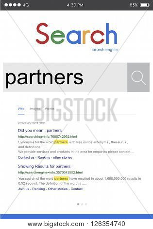 Partners Partnership Alliance Collaboration Team Concept