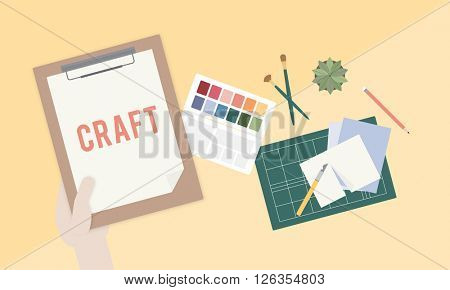 Craft Design Innovate Ideas Creativity Concept