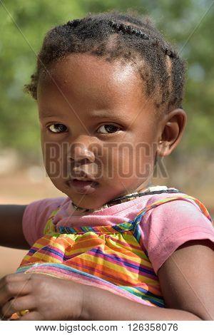 Little Himba Girl, Namibia