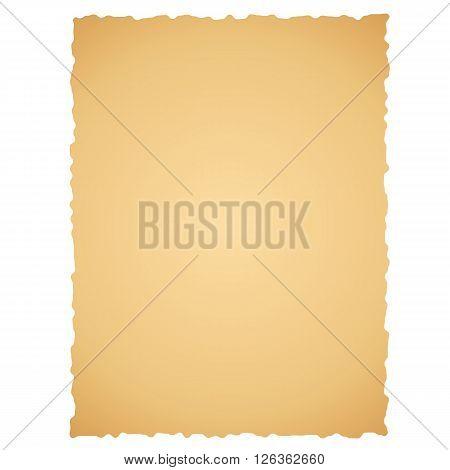 Old paper. Vector illustration. Brown paper for scraobook.