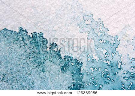 Super Macro Blue Watercolor Textures 12