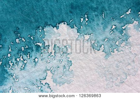 Super Macro Blue Watercolor Textures 11