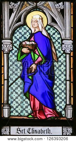 Stained Glass - Saint Elisabeth