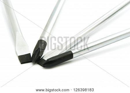 Different Metal Screwdrivers